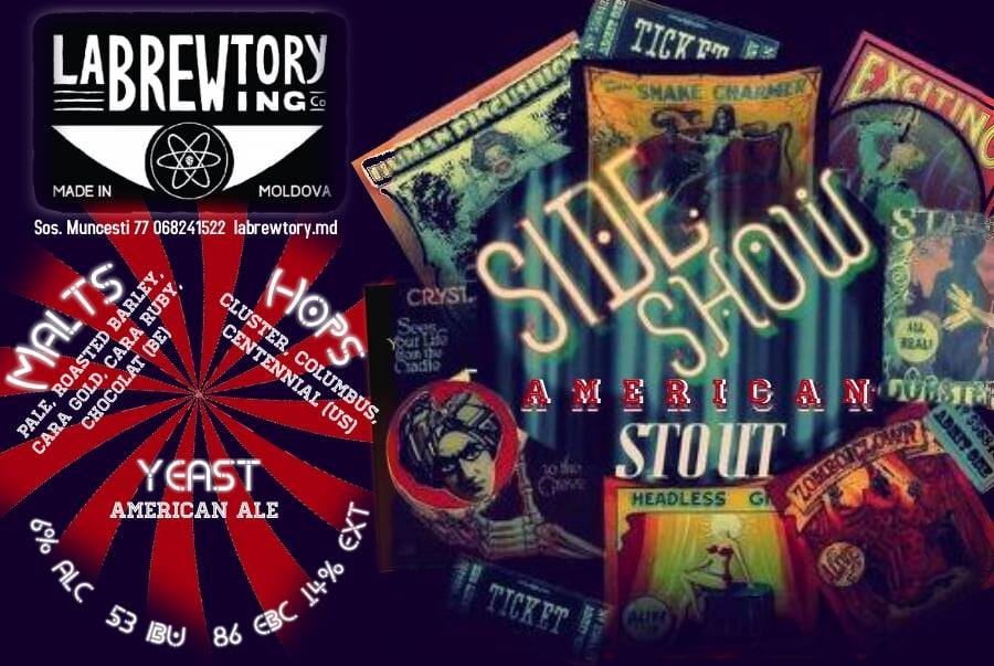 Side Show American Stout - Out Now!
