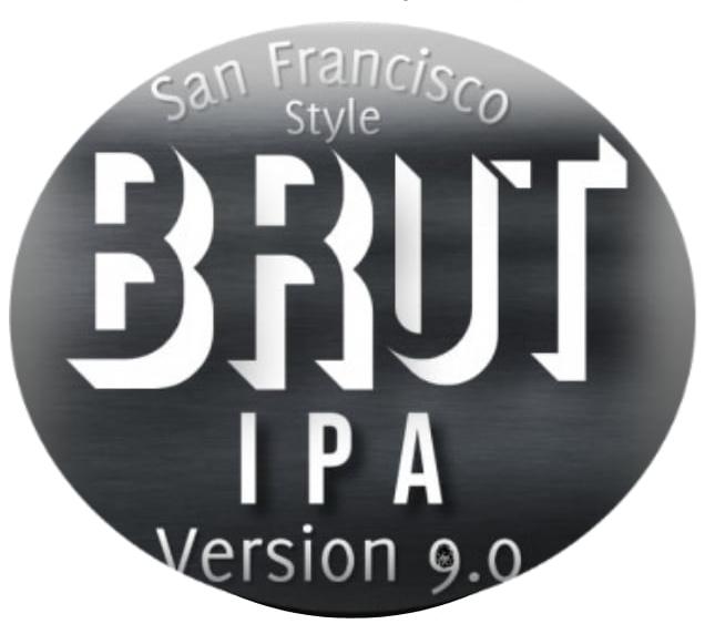 Brut IPA v.9- 1 Liter