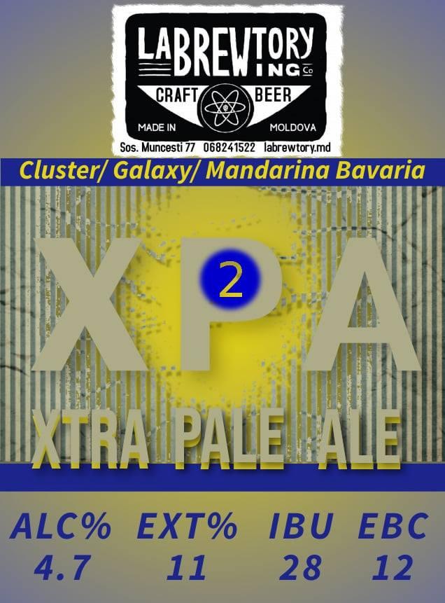 XPA (Extra Pale Ale v-2.0) - 1L