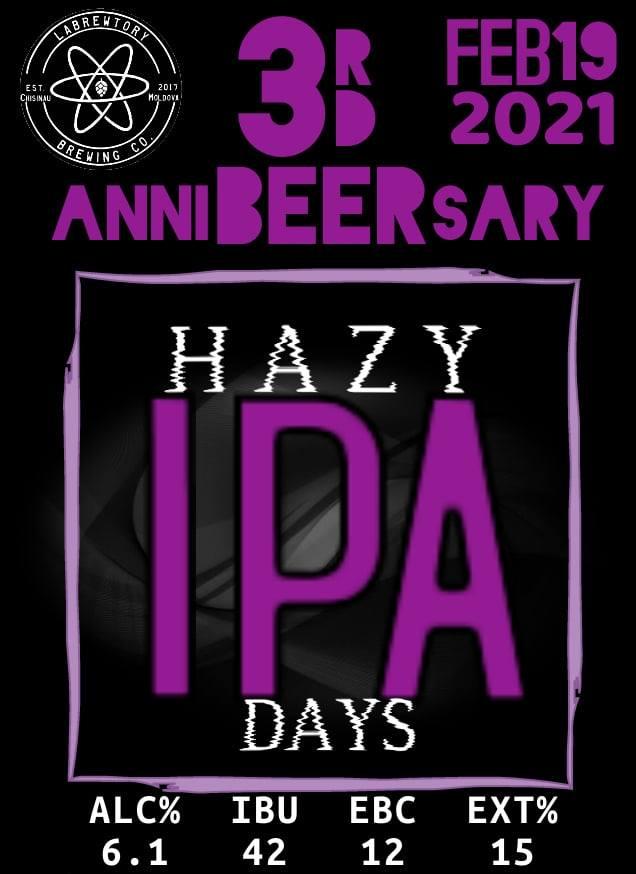 3rd Anniversary Hazy IPA